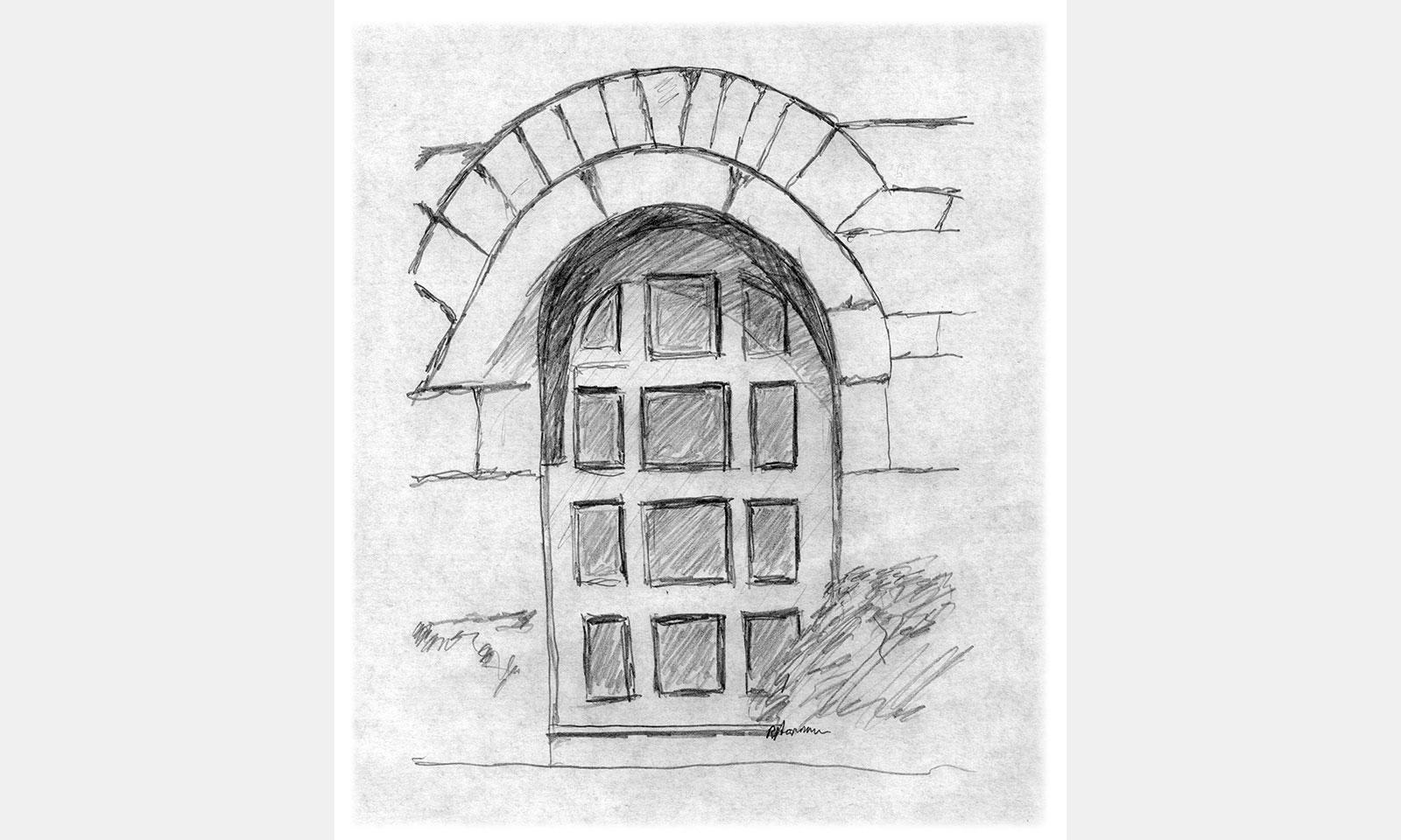 Real estate door